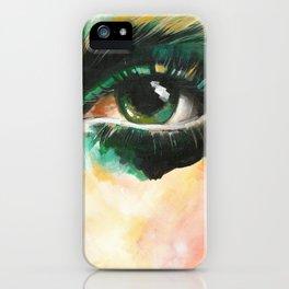 Contemporary Eye Art iPhone Case