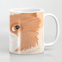 gizmo Mugs featuring Gizmo by ItalianRicanArt