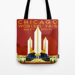 1933 Chicago World's Fair Tote Bag