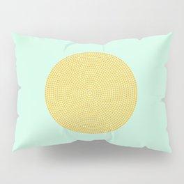 Polka Dot yellow mustard Pillow Sham