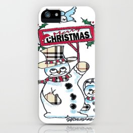 Holly Jolly Christmas iPhone Case