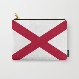Flag of Alabama-Alabaman,south,birmingham,Montgomery,Jazz,blues,countryside,bible belt,cotton,usa,us Carry-All Pouch