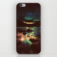 Dark Magical Mountain Lake iPhone & iPod Skin