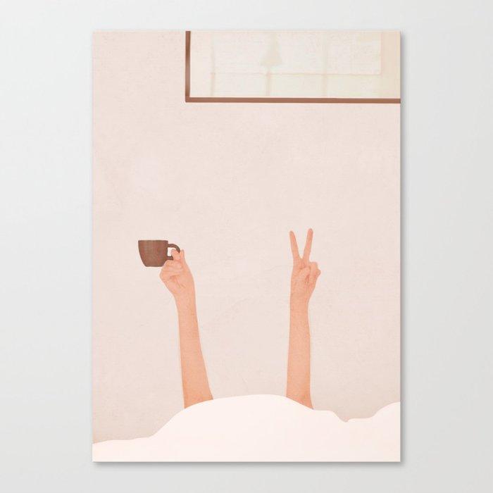 Good Peaceful Morning Canvas Print