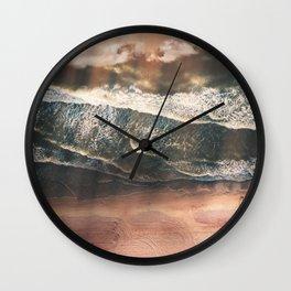 Rustic sea Wall Clock