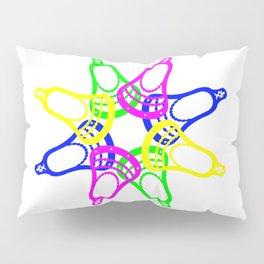 Lacrosse Neon Heads Pillow Sham