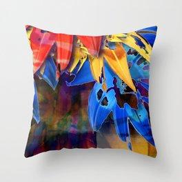 Verdant Art Throw Pillow