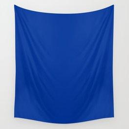 Smalt (Dark powder blue) - solid color Wall Tapestry