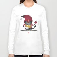 scorpio Long Sleeve T-shirts featuring SCORPIO by Angelo Cerantola