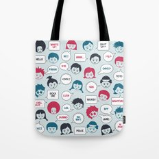 Kids Speak Tote Bag