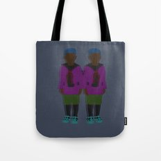 ☹ Bionic Twins ☹ Tote Bag