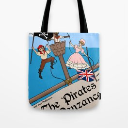 Pirates of Penzance Poster Tote Bag