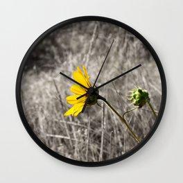 Sunflower Daydream Wall Clock