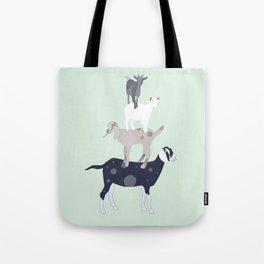 Goat Stack Tote Bag
