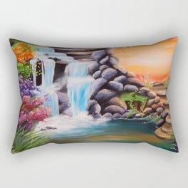 The first step Rectangular Pillow