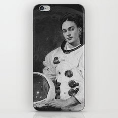 Frida in Space iPhone Skin
