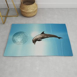 The DOLPHIN - ZEN version Rug