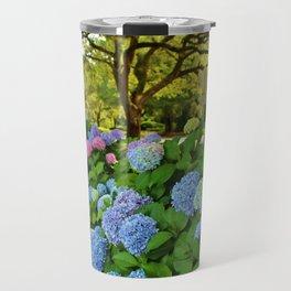 Colorful Pom-Poms Travel Mug