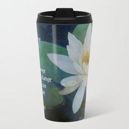 Serenity Prayer Lotus One Travel Mug