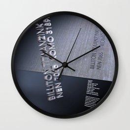 Brotherhood Inspired Wall Clock