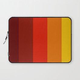 Multicolor Retro Strips Laptop Sleeve