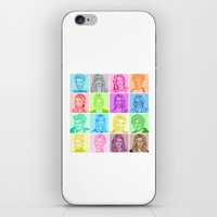 glee iPhone & iPod Skins featuring Glee by ONEX8
