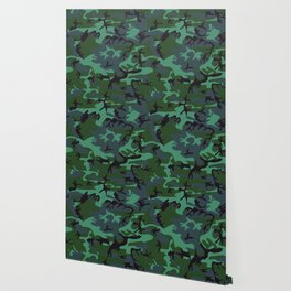 camouflage green Wallpaper