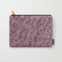 Razor Blades Plum Carry-All Pouch