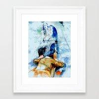 drunk Framed Art Prints featuring drunk by Alex Evan Lucas