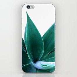 Agave on White iPhone Skin