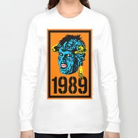 """1989 Long Sleeve T-shirts featuring """"Mourning My Youth"""" Series 