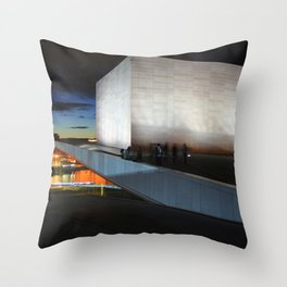 On The Roof Throw Pillow