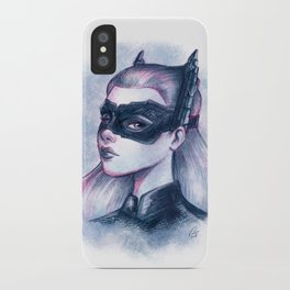 Catwoman Sketch  iPhone Case