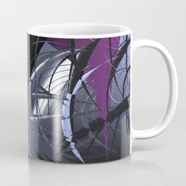 Messy entangled abstract matter Coffee Mug