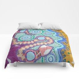 Rainbow Serpent Comforters