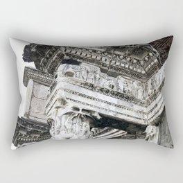 Ancient Roman Columns Rectangular Pillow