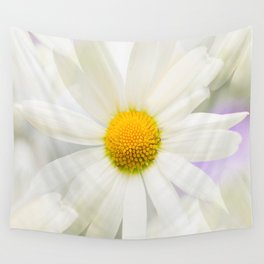 Daisy Flower Bouquet Pastel Color Background #decor #society6 #buyart Wall Tapestry