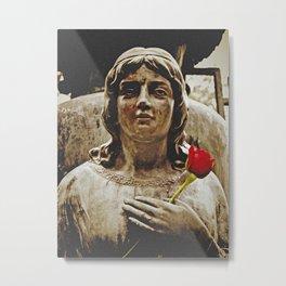 Hand on heart Metal Print