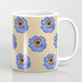 Obi-Wan Flower Pattern Coffee Mug