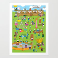 Oekie Fair Art Print