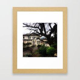 Spanish Cava Vineyard Framed Art Print
