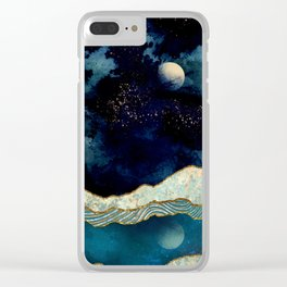 Indigo Sky Clear iPhone Case