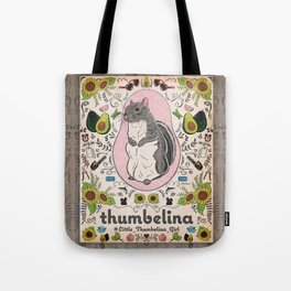 Little Thumbelina Girl: Thumb's Favorite Things in Color Tote Bag