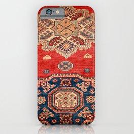Natural Dyed Handmade Anatolian Carpet iPhone Case