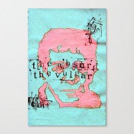Absurd/Vulgar Canvas Print