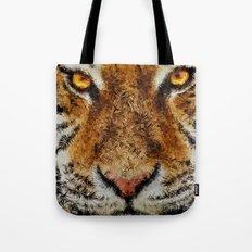 Animal Art - Tiger Tote Bag