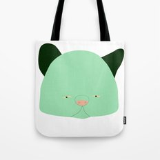 Pussy Verde Tote Bag
