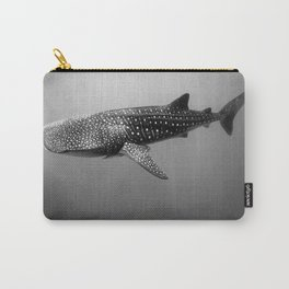 Big Fish, B & W Carry-All Pouch