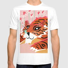 A sweet encounter Mens Fitted Tee White MEDIUM