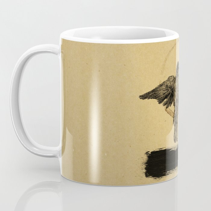 Quiet Bird Coffee Mug
